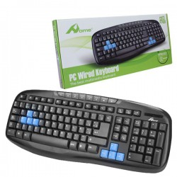 Teclado Multimedia USB KPM-201