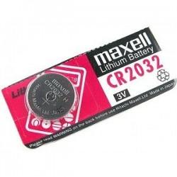 Pila Botón 3V CR2032 MAXELL de Lithium