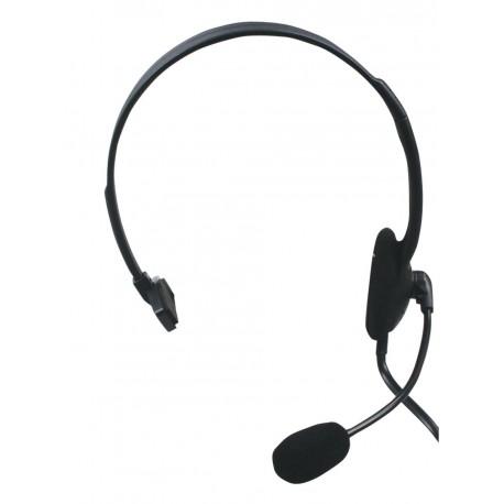 Auricular con micrófono para teléfono conexión RJ9