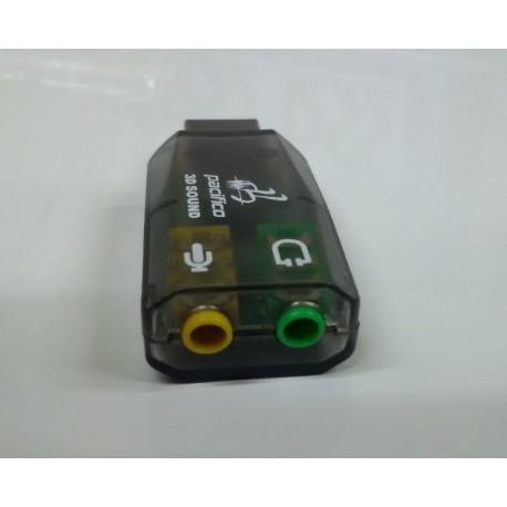 Tarjeta Sonido USB 3D Sound