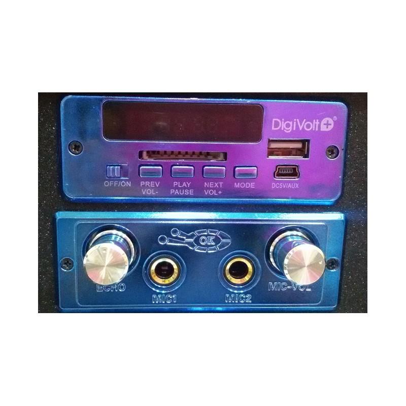 Altavoz Con Karaoke Hifi 16 Digivolt Reproductor Mp3 Desde