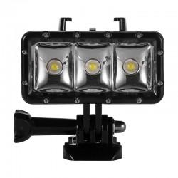 Linterna / Foco Sumergible 30m para Cámaras GoPro 4 / 3+/ 3/ 2/ 1, SJCAM