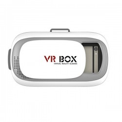 Gafas Realidad Virtual VR BOX 2.0 Blancas