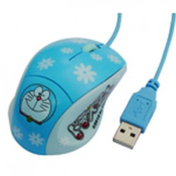 RATON USB DISEÑO GATITO Ergonómico, 1600DPI