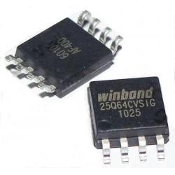W25Q64 (W25Q64cvsig)  SOP 8