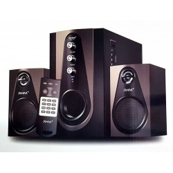 Altavoces Multimedia  RHM RM-103 USB, Radio FM, Micro SD, Bluetooth, Mando a distancia