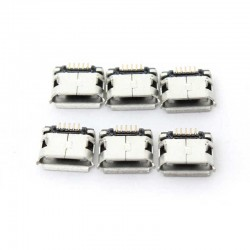 Conector Micro USB Jack para Tablet y Smartphone