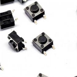 Botón Pulsador SMD 6*6*4.3mm