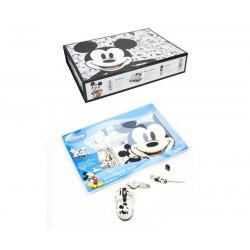 Pack Disney Mickey (Estuche, Ratón, Skin y Pen Drive)