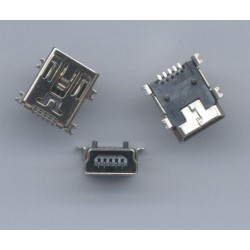 Conector Mini USB 5 pines (Mini B5) SMD