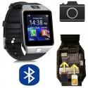 Reloj Inteligente SmartWatch con SIM, Bluetooth, Redes Sociales...