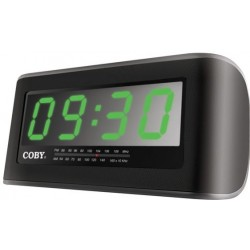 Radio Reloj Despertador Digital COBY CR-A108 AM/FM Jumbo