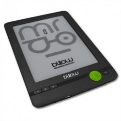 eBook reader Billow E03FL 6'' 4GB con Luz