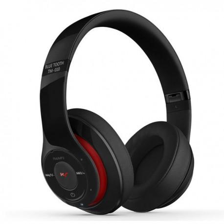 Auricular Bluetooth Stereo Reproductor MP3, Radio y Manos Libres TM-010S