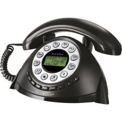 Alcatel Temporis Retro - Teléfono fijo con diseño Vintage y características modernas