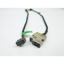 Conector DC Jack con cable y conector 8 pines para portátil HP 15-R series