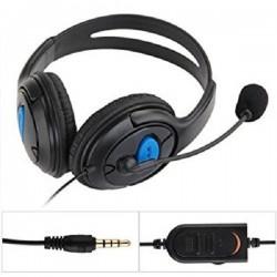 Auricular PS4 GAMING Headset con Micrófono y Control de Volumen
