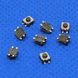 Botón Pulsador SMD para mando de coche 3*4*2mm 4 pin