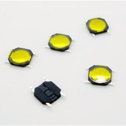 Botón Pulsador SMD para mando de coche 4*4*0.8mm 4 pin