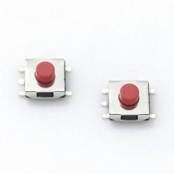 Botón Pulsador SMD para mando de coche 6*6*3.1mm 5 pin