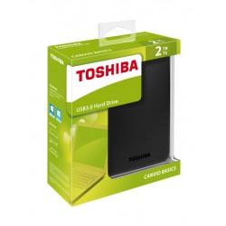 "Disco Duro Externo 2TB TOSHIBA CANVIO BASICS 2.5""  3.0 BLACK"