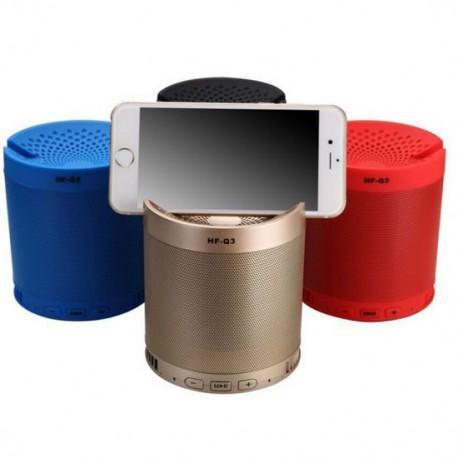 Altavoz Bluetooth HF-Q3 Reproductor Mp3 USB/MicroSD con Radio