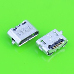 Conector Micro USB Jack Huawei Ascend 4X 4X Y6 4A C8817 P8 P8 P8 max Lite 4C 3X Pro G750-T20
