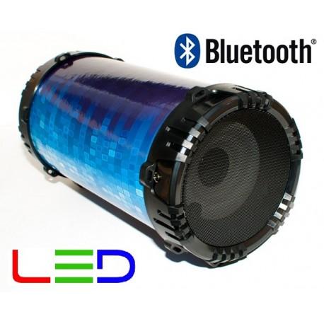 Alatavoz Bluetooth Reproductor MP3 USB/MicroSD y Función Karaoke
