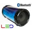 Altavoz Bluetooth Portátil Reproductor MP3 USB/MicroSD y Función Karaoke