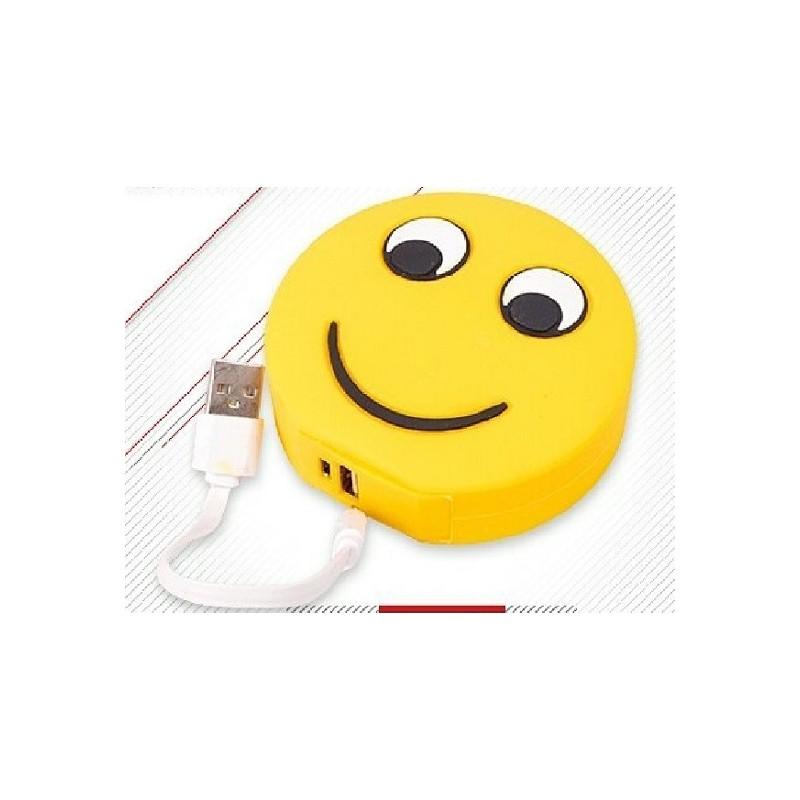 Cargador Externo Powerbank Emoji 5600mah
