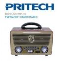 Radio Vintage. Altavoz Bluetooth, estilo Retro con Radio, MP3, USB, SD