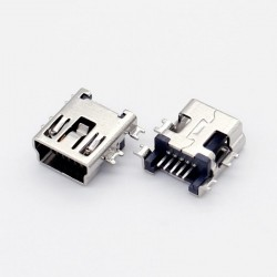Conector Mini USB 5 pines (Mini B5) SMD Billow