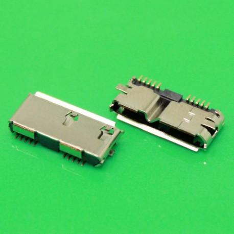 Conector USB 3.0 para soldar en placa para Disco duro Externo, caja externa