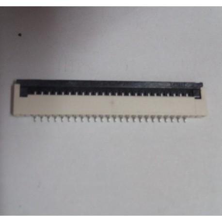 Conector para teclado de portátil FFC/FPC CONECTOR 24pin 1.0mm