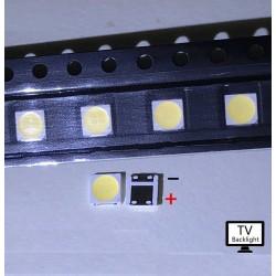 Led SMD 3535 6V 2W para retroiluminación (Backlight) TV LED LG, Toshiba, Samsung
