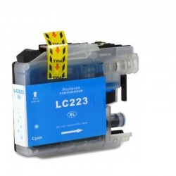 LC-223C CARTUCHO GENERICO BROTHER CYAN (10ML) CHIP ACTUALIZADO