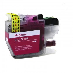 LC-3213/3211M CARTUCHO GENERICO BROTHER MAGENTA (10ML)