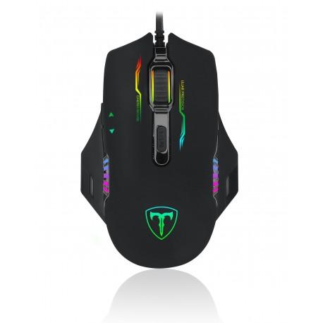 Ratón Óptico GAMING T-DAGGER Recruit T-TGM103 RGB