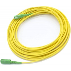 Cable Fibra Óptica para Router (Movistar, Orange, Vodafone, Masmovil, Yoigo...) Monomodo SC-APC
