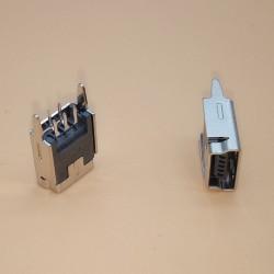 Conector Mini USB 5 pines (Mini B5 Vertical)
