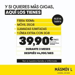 MASMOVIL Distribuidor Autorizado en Málaga (Tienda MasMovil en Malaga)
