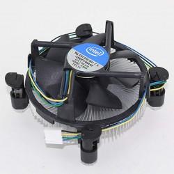 Ventilador de CPU Original Intel E97378-001 con Disipador de Aluminio LGA1151/1150/1155/1156/1200