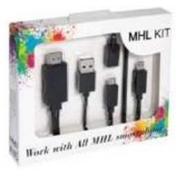 Cable A/V micro USB a HDMI para móviles con MHL