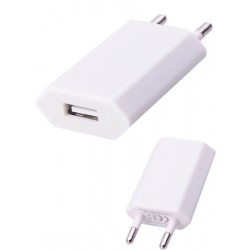 Cargador de Red USB 1Amp