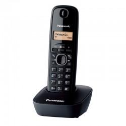 Teléfono Inalámbrico Panasonic DECT KX-TG1611 Negro