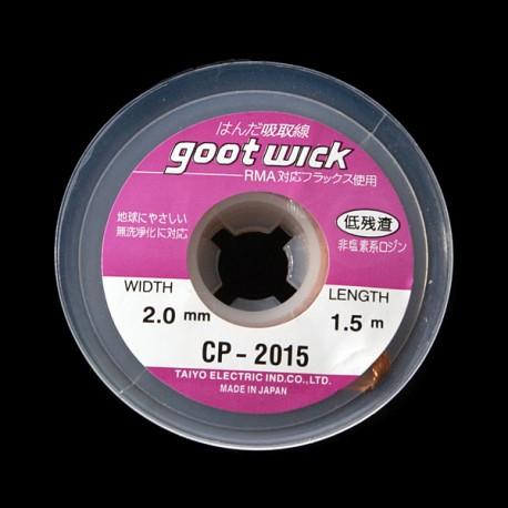Malla para desoldar 2.0 mm (GootWick)