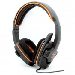 Auricular con Micrófono GAMING NOX Krom Krush PC Stereo