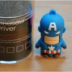 Pendrive 8Gb. Capitán América