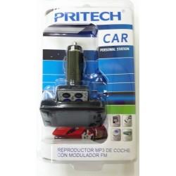 Reproductor MP3 de Coche con Modulador FM PRITECH CC-774