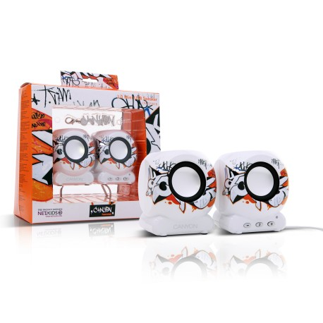 Altavoces Mini USB 2.0 CANYON Graffiti